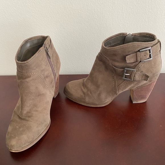 Crown Vintage Shoes - Shoes: 2 for $40! Brown suede booties